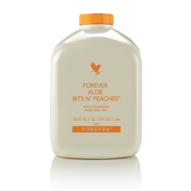 آلوئه‌ورا و هلوی فوراور Forever Aloe Bits N' Peaches