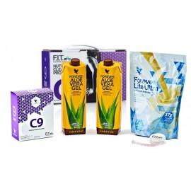 پک سمزدایی و پاکسازی به همراه لاغری کلین ناین با طعم وانیل (٩ روزه) Clean 9 Vanilla With Innerpack